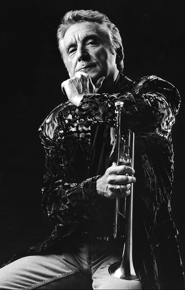 Doc-Severinsen-bw-photographed-by-Joe-Henson-Best-Actors-Headshot-Photographer-Corporate Portraits-NYC-NY-New-York-Washington-DC-Boston